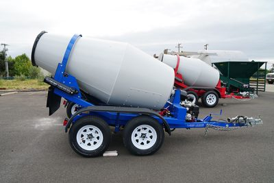 Portable Concrete Mixers Cart Away