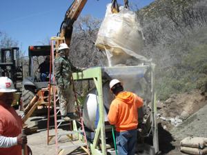 Portable Batch Plant Water Access Portable Concrete